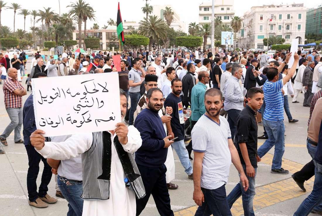 حكومة طرابلس ترفض مغادرة السلطة.. وحكومة الوفاق تسيطر على موقع رئاسة الوزراء