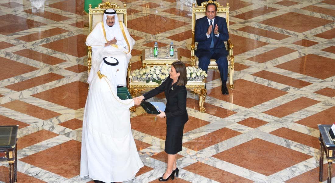 """""""جسر الملك سلمان"""" يربط مصر والسعودية برياً.. وتوقيع 15 اتفاقية بين البلدين"""