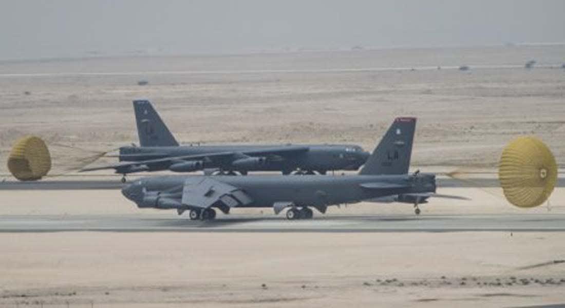 """قاذفات """"بي 52"""" الأمريكية تصل قطر لمحاربة """"داعش"""".. للمرة الأولى منذ """"عاصفة الصحراء"""""""