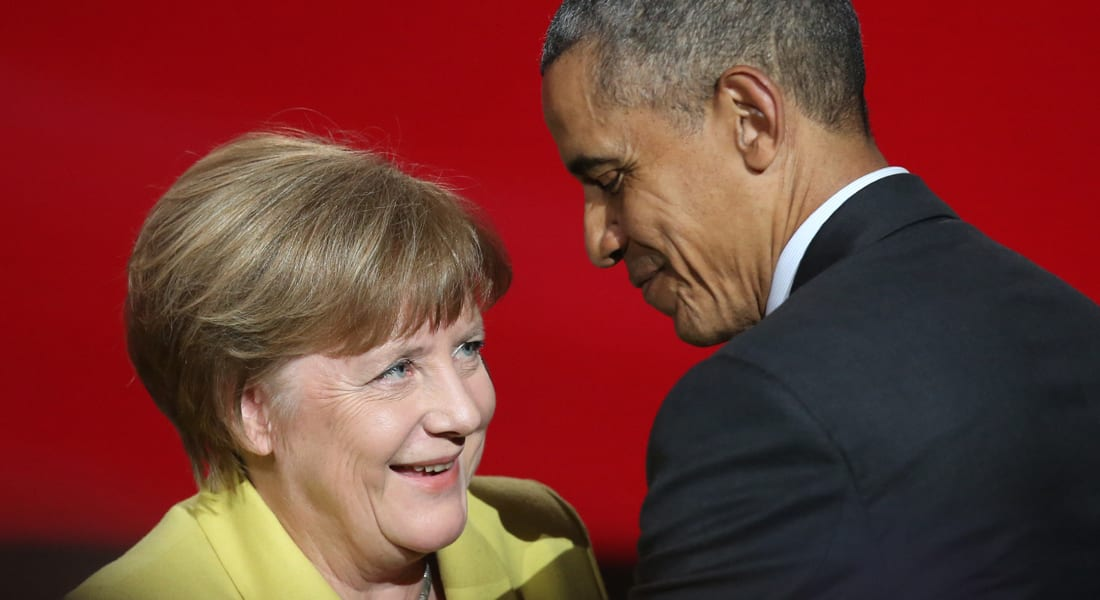 أوباما من ألمانيا: فخور بأنجيلا ميركل وموقفها من المهاجرين