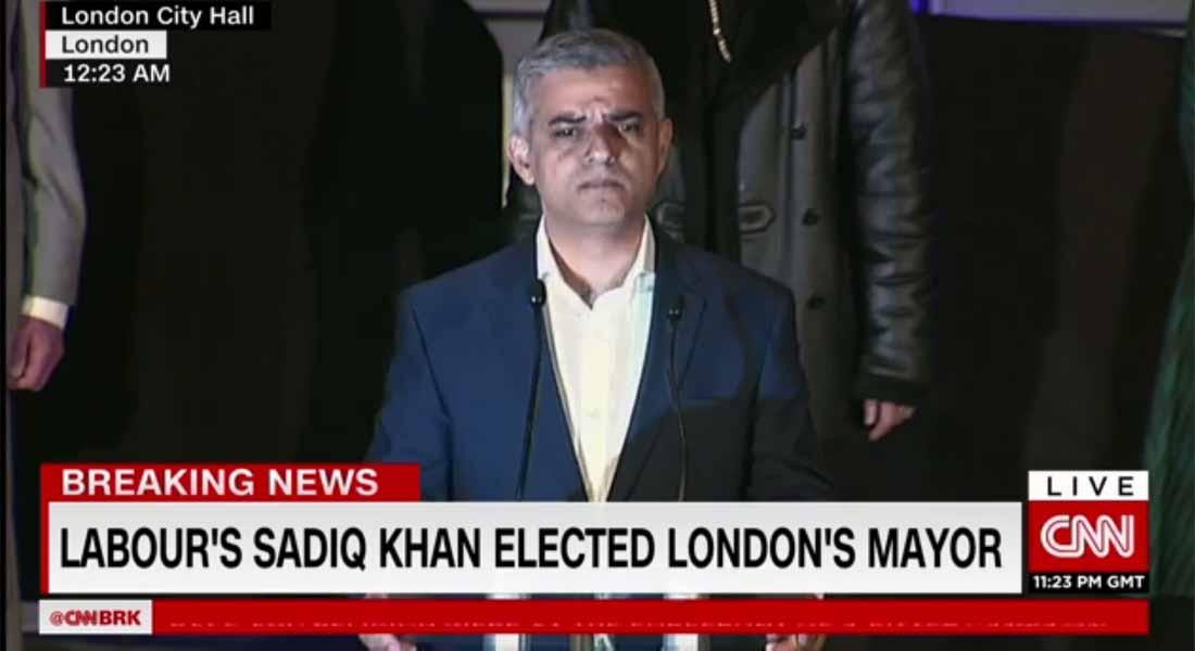 بريطانيا: انتخاب أول مسلم كعمدة للعاصمة لندن