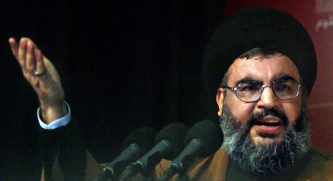 """نصرالله ينتقد لقاء تركي الفيصل بجنرال إسرائيلي: السعودية تخرج للعلن وتشكل رأس حربة.. و""""تيران وصنافير"""" باب للعلاقات"""