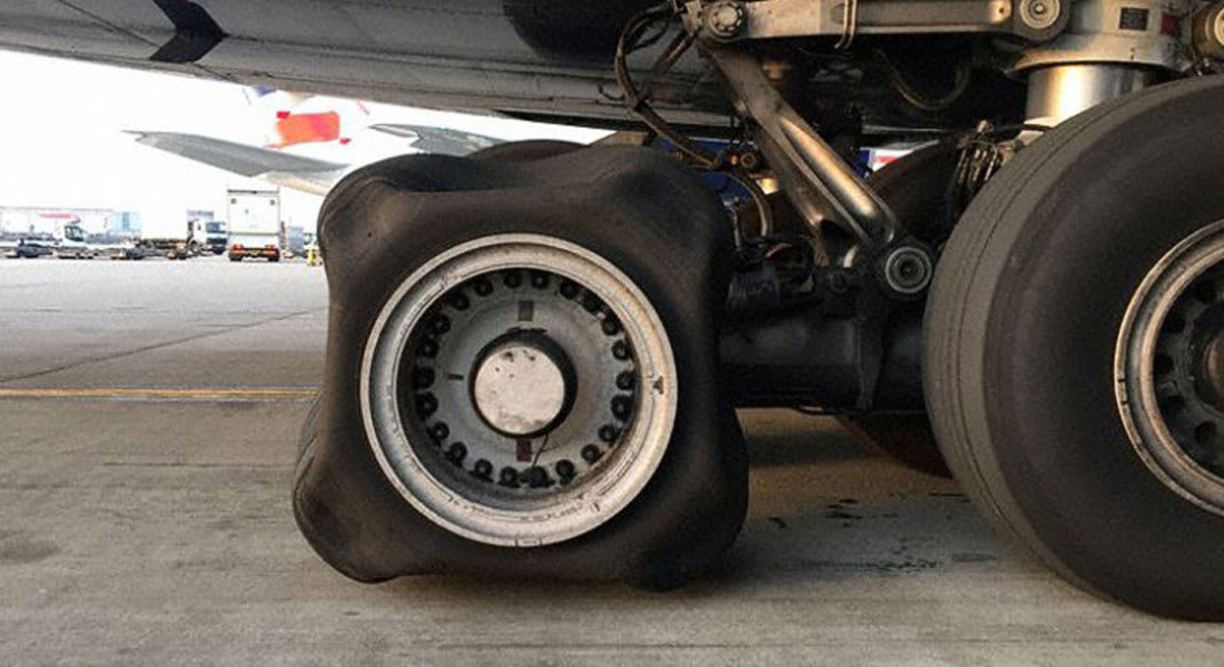 """ما هو لغز العجلة """"المربعة"""" في طائرة الخطوط الجوية البريطانية؟"""