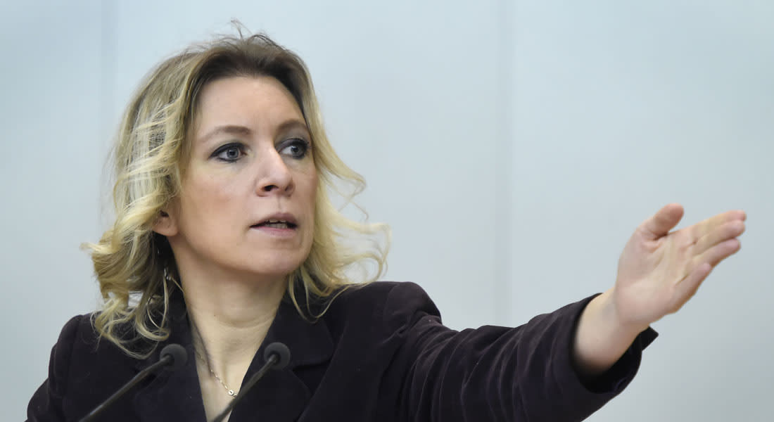 """المتحدثة باسم الخارجية الروسية: اعتقد أن في مسابقة """"يوروفيجن"""" القادمة سيغنون عن بشار الأسد"""