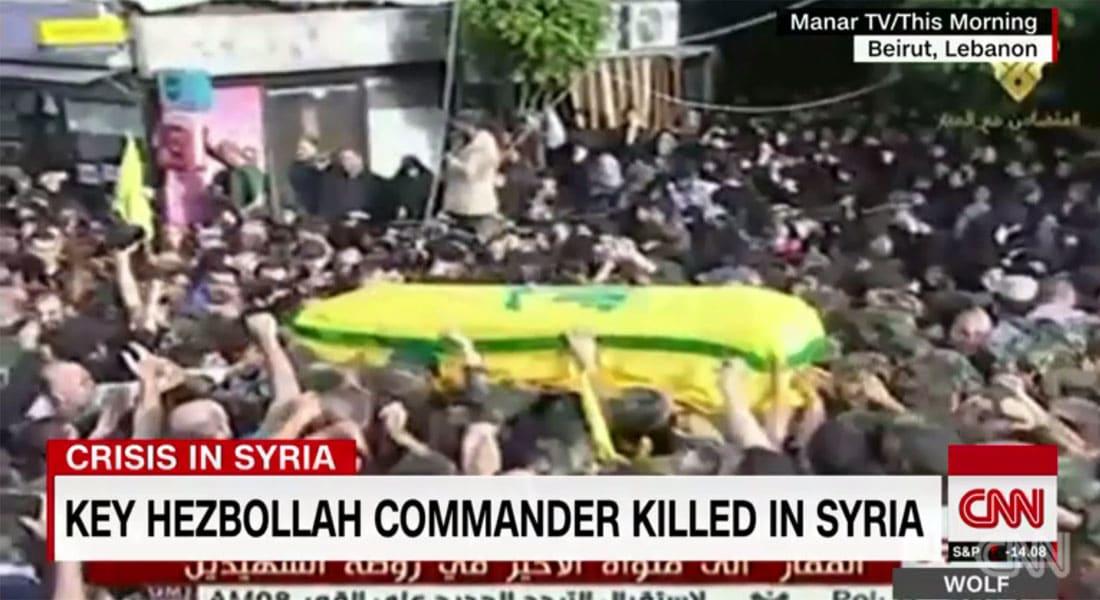 """الحوثي برسالة تعزية لحسن نصرالله: """"مجاهدو"""" حزب الله سادة ونحن تحت الراية ذاتها.. ومصطفى بدر الدين من حملة الراية الحسينية"""