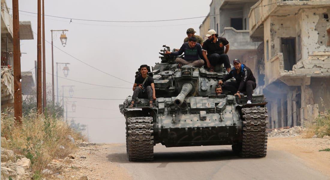 فصائل المعارضة السورية: اتفاق وقف الأعمال العدائية بحكم المنهار تماما.. ومهلة 48 ساعة لإنقاذ ما تبقى