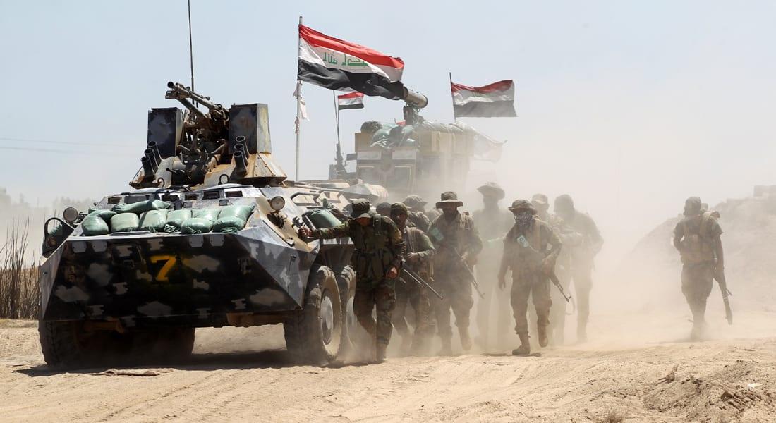 الجيش العراقي: نجاح الصفحة الأولى من عملية تحرير الفلوجة.. والقوات وصلت إلى مشارف المدينة