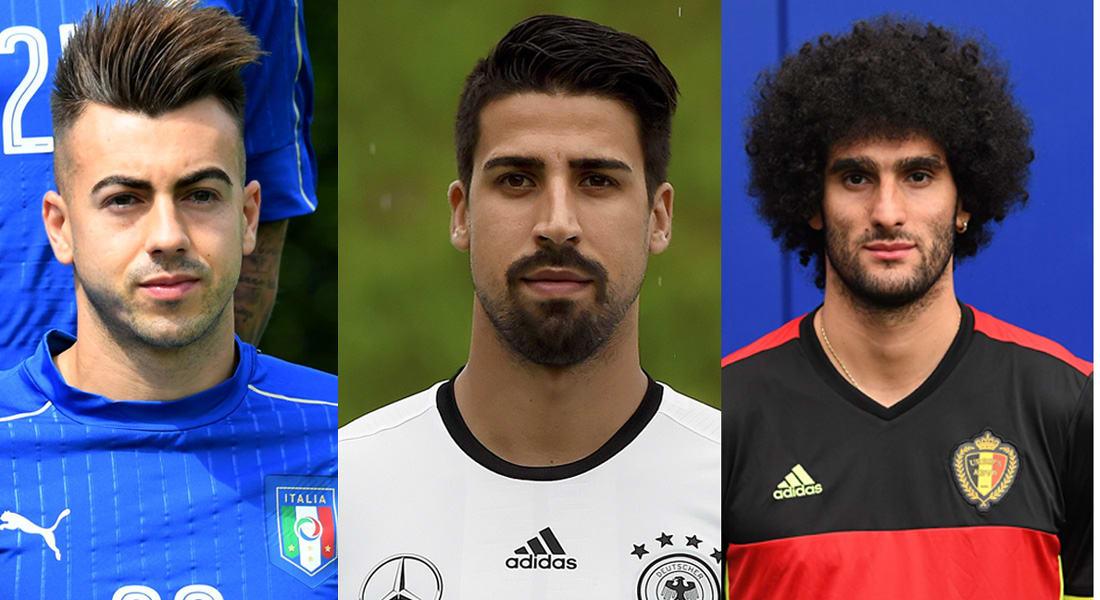 خضيرة والشعراوي وفيلايني أبرز النجوم من أصول عربية في يورو 2016
