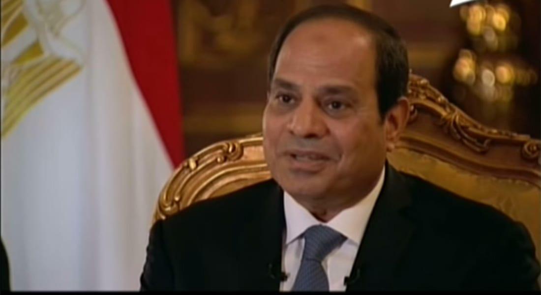 """بالفيديو.. السيسي يبين سبب ابتسامته بخطاب مرسي الأخير ومن يقصد بمصطلح """"أهل الشر"""""""
