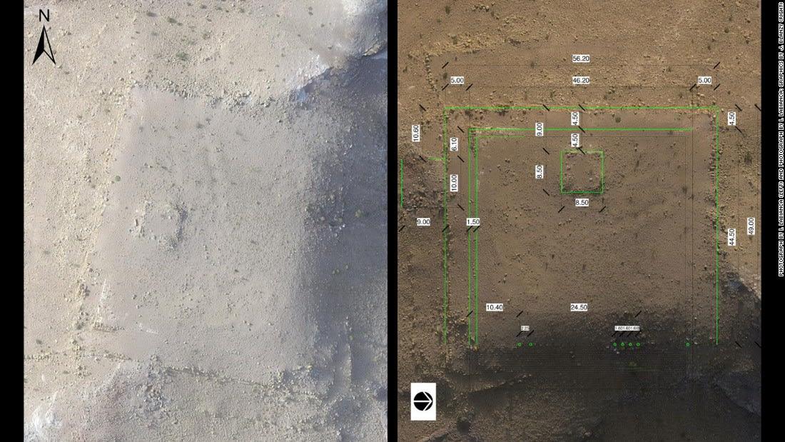 """العثور على نصب تذكاري """"عملاق"""" في مدينة البتراء الأثرية بالأردن"""