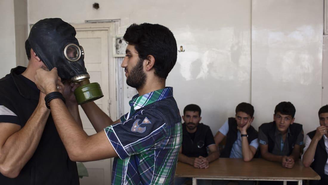 نظام الأسد ينفي استخدام الكيماوي وأمريكا تتهمه: يقصف شعبه ويستعمل الكلورين