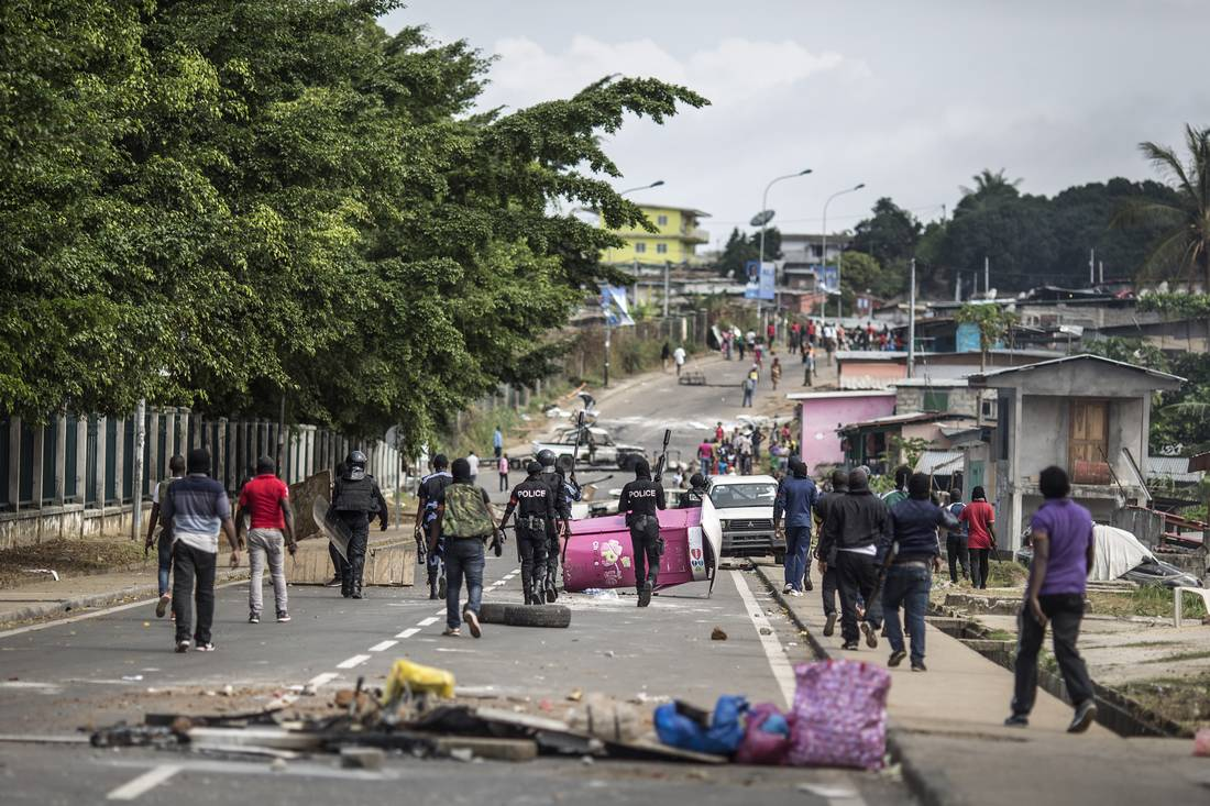 أعمال شغب في الغابون بعد إعلان فوز رئيس البلاد بولاية جديدة