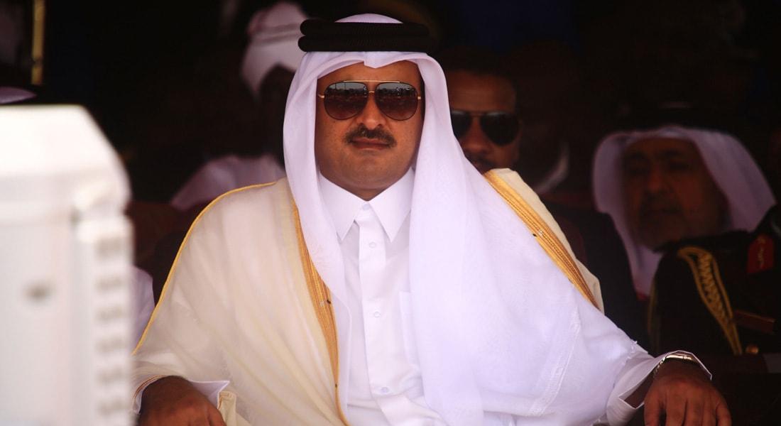 """أمير قطر: شعار """"الأسد أو نحرق البلد"""" هو مشروع النظام"""