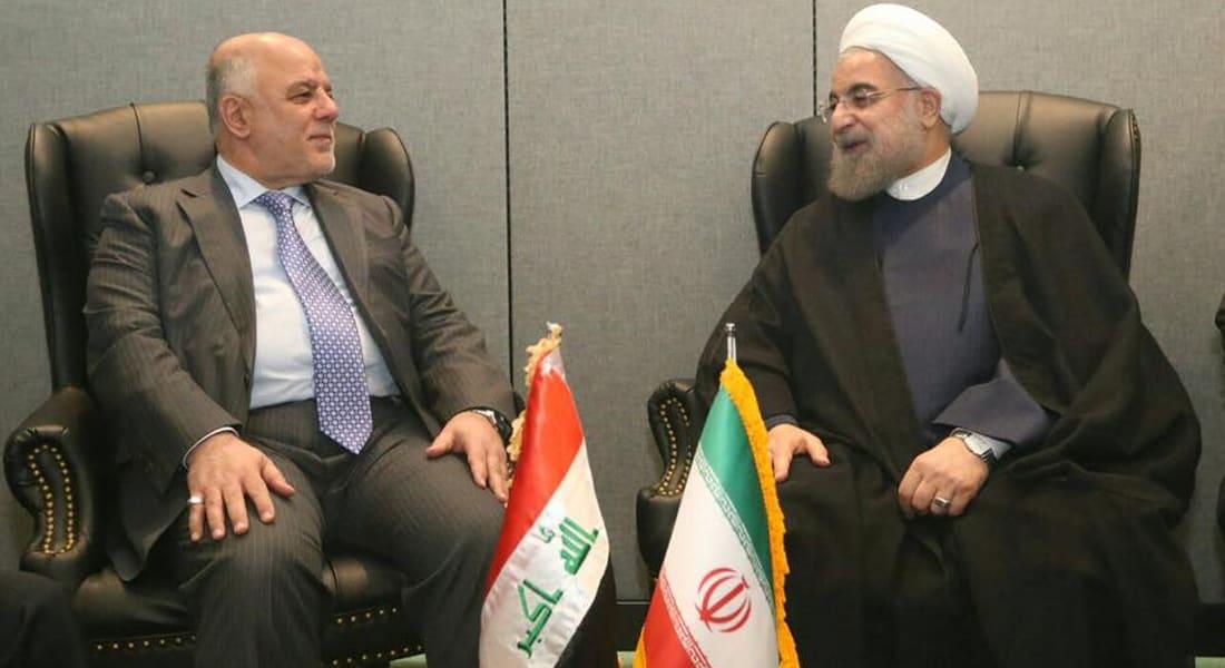 روحاني للعبادي: أمن العراق من أمننا وإيران لن تتوانى عن دعم الحكومة والحشد الشعبي