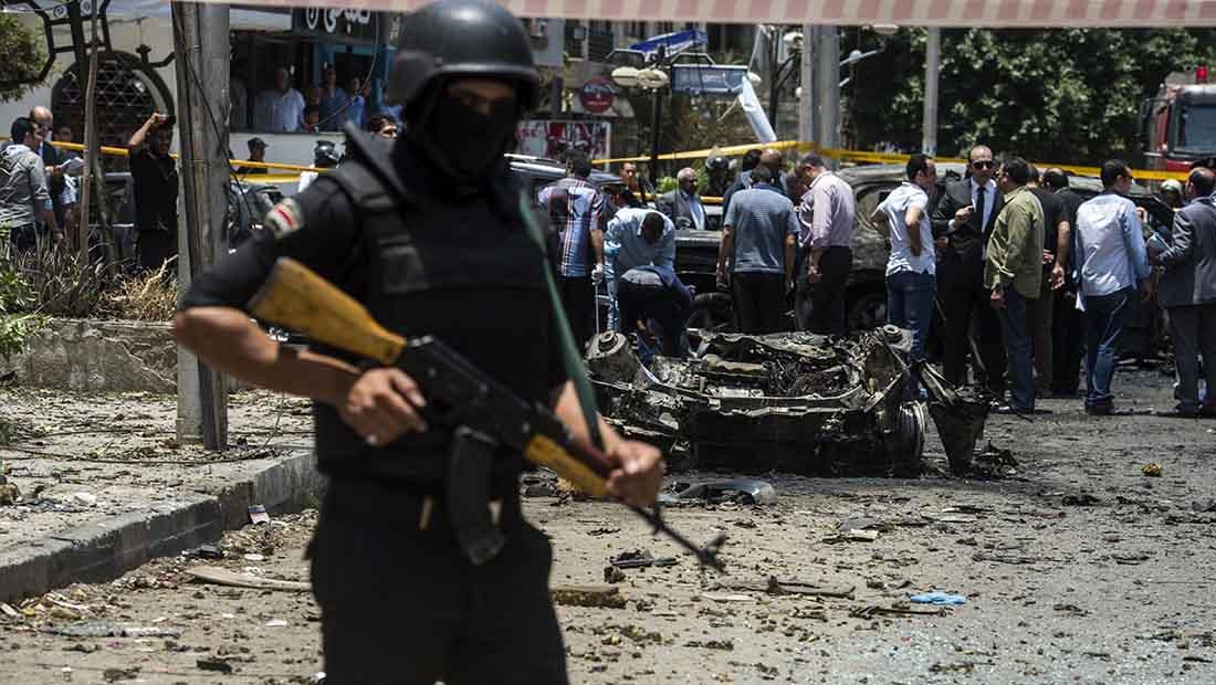مصر: انفجار عقب مرور موكب النائب العام المساعد
