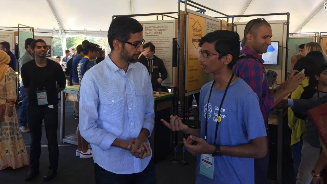 لماذا لفت هذا الشاب بعمر 15 عاماً انتباه مدراء غوغل؟