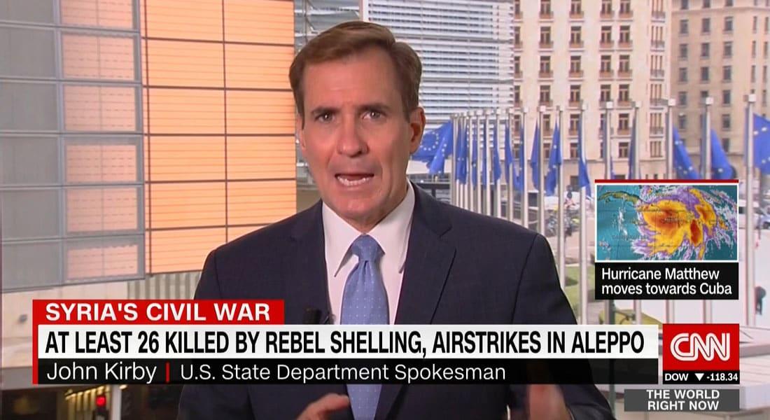 المتحدث باسم الخارجية الأمريكية لـCNN: لا يمكن لروسيا اختيار الحقائق بسوريا