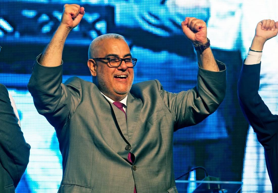 حزب العدالة والتنمية يفوز بالرتبة الأولى في الانتخابات المغربية