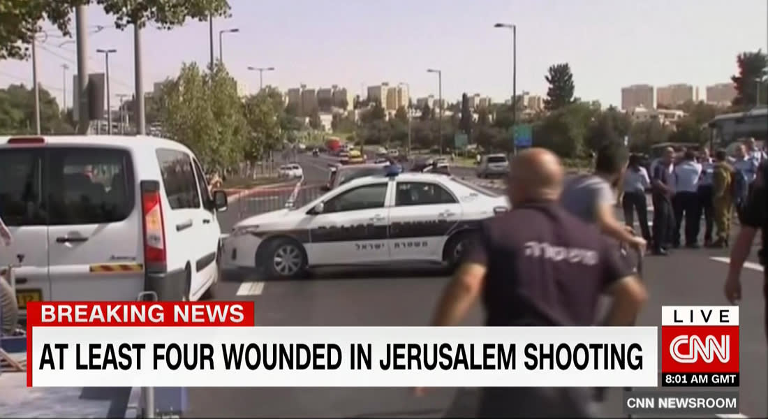 إسرائيل: جرحى بإطلاق نار مقابل مقر للشرطة بالقدس