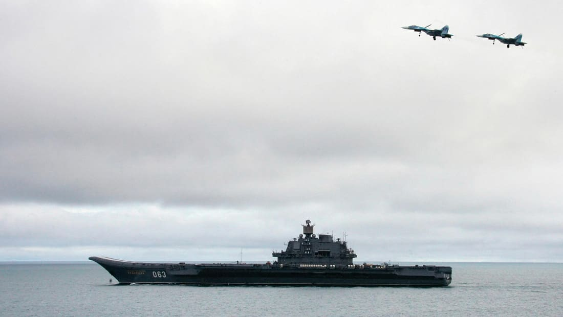 روسيا تسحب طلب تزويد أسطولها المتوجه لسوريا بالوقود في أسبانيا
