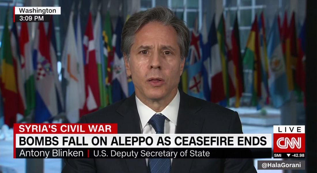 نائب وزير خارجية أمريكا لـCNN: تحديان أمامنا بسوريا