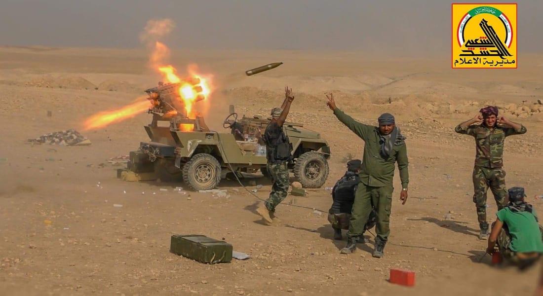 الحشد الشعبي: سنلاحق العصابات الإرهابية في سوريا