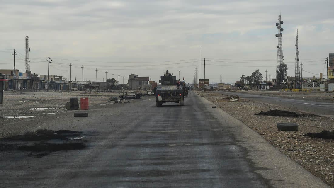 القوات العراقية تدخل ثاني أحياء شرق الموصل.. وغارات مكثفة شمال المدينة