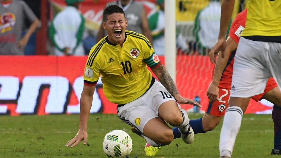 كولومبيا وتشيلي تتعادلان سلبيا بتصفيات المونديال