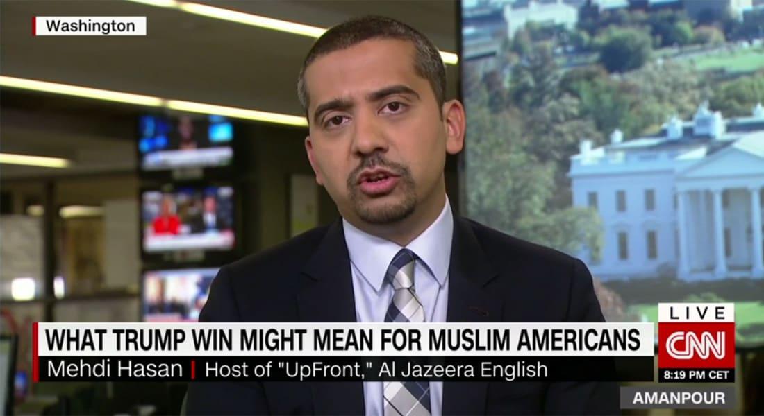 إعلامي بريطاني مسلم يبين لـCNN لماذا يثير ترامب القلق