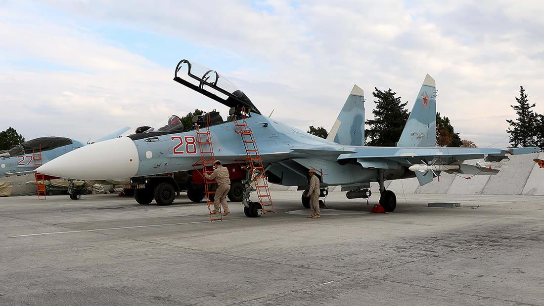 """الطائرات الروسية تقلع من """"كل الأماكن الممكنة"""" لقصف مواقع في سوريا"""
