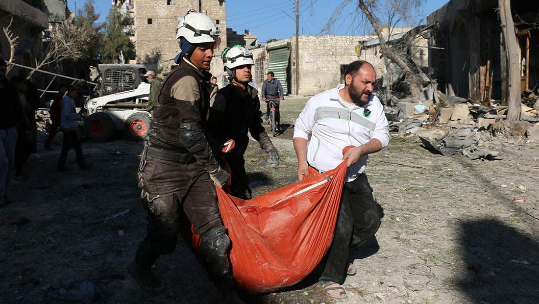 """""""الخوذ البيضاء"""": أكثر من 60 قتيلا في قصف على شرق حلب"""