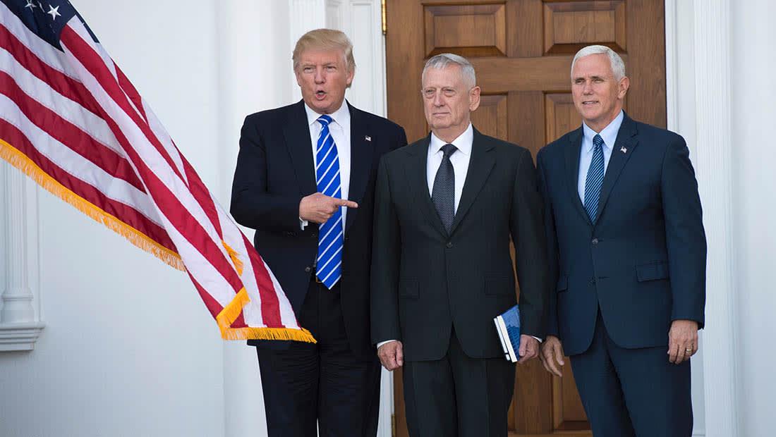 """ترامب يدرس ترشيح """"الكلب المجنون"""" لوزارة الدفاع.. ورومني للخارجية"""