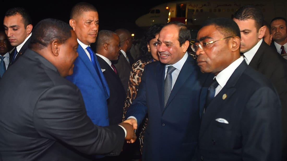 """بعد انسحاب المغرب والسعودية.. السيسي يشكر من ساهم في """"نجاح"""" القمة العربية الأفريقية"""