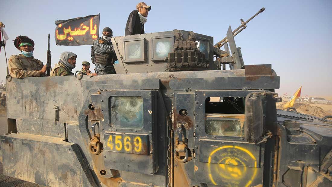 """الحشد الشعبي يبدأ """"الصفحة الخامسة"""" في عملية الموصل"""
