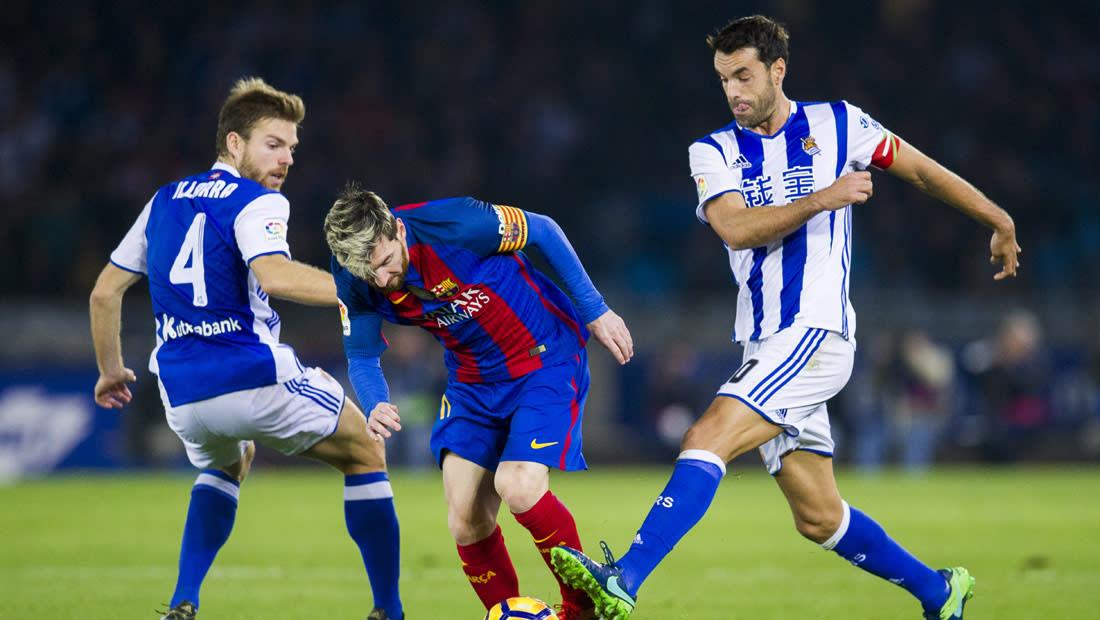 """برشلونة يفشل في كسر عقدة """"أنويتا"""" ويتعادل مع سوسيداد"""