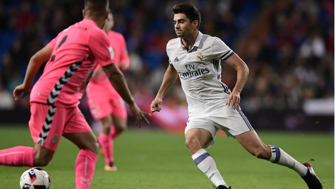إنزو زيدان يسجل هدفه الأول مع الريال في مباراة الكأس