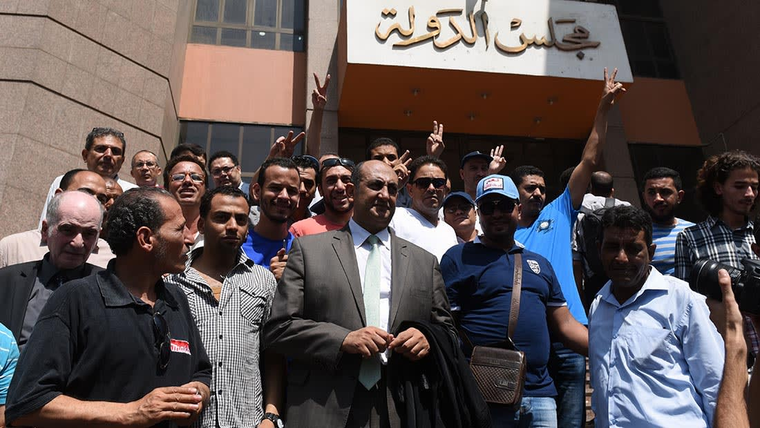 """هيئة قضائية مصرية توصي ببطلان """"سعودة"""" تيران وصنافير"""