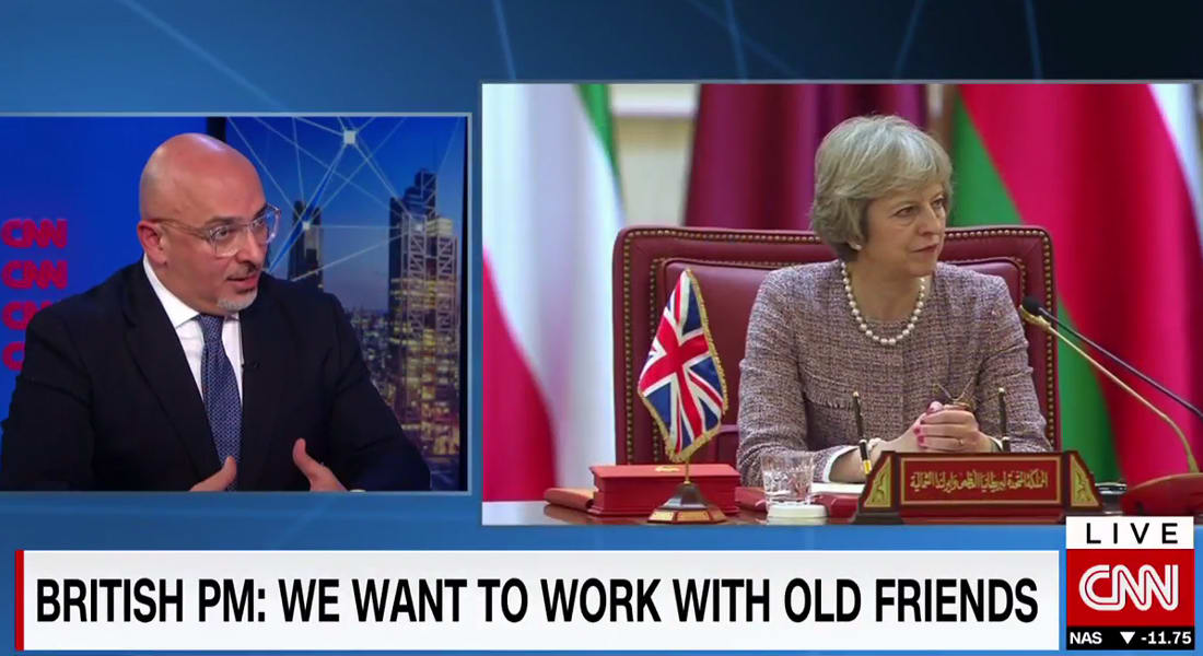 """ناظم الزهاوي لـCNN: دول """"التعاون الخليجي"""" مهمة لمستقبل بريطانيا.. وعمليات السعودية في اليمن مدعومة من الأمم المتحدة"""