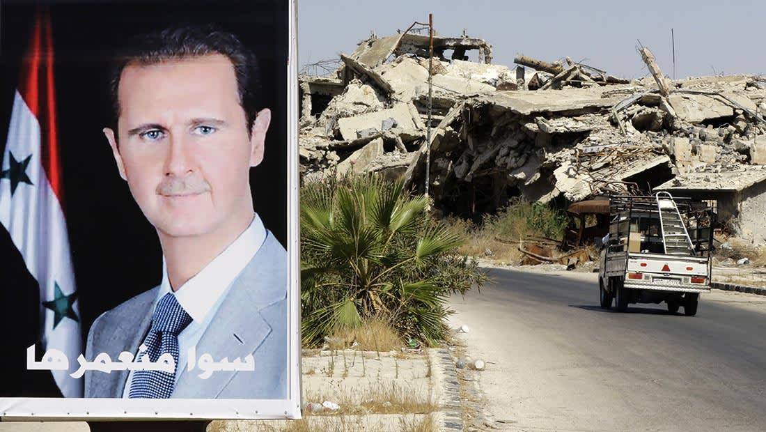 المرصد السوري: سقوط طائرة للنظام في ريف حمص