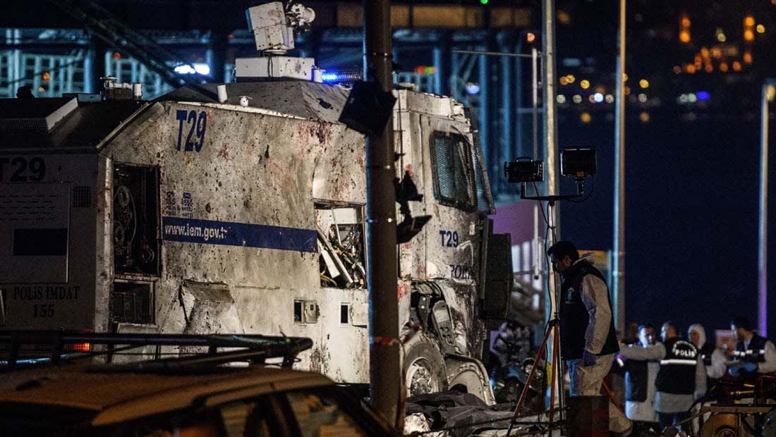 تركيا: اتهام لحزب العمال بالوقوف خلف تفجيري اسطنبول والعبوات بمئات الكيلوغرامات