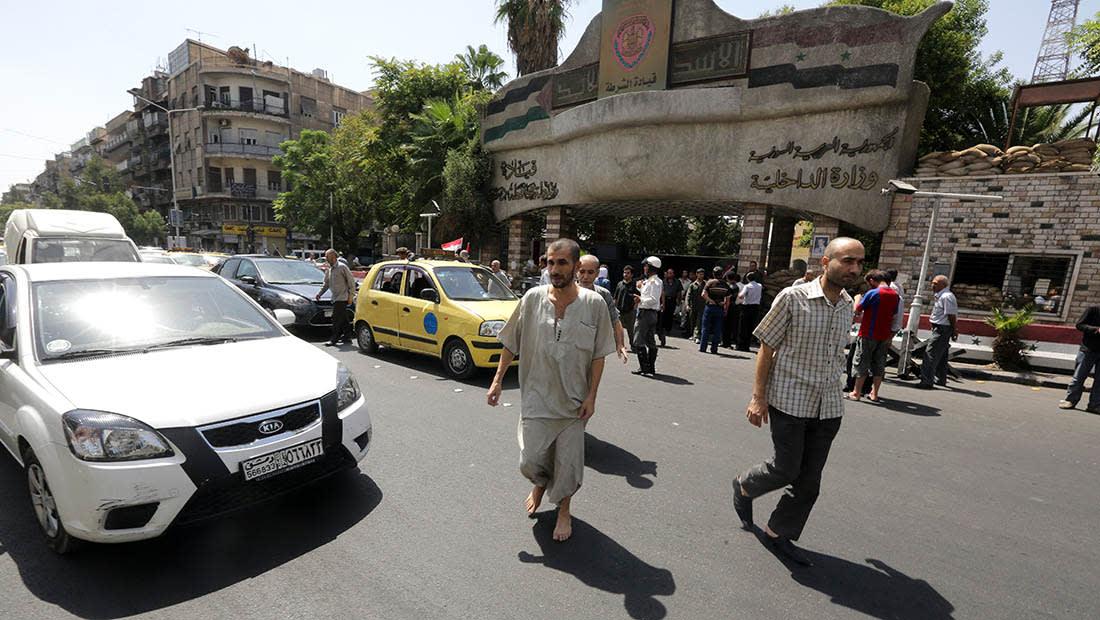 النظام السوري: إرهابيون استغلوا طفلة لتفجير قسم شرطة الميدان