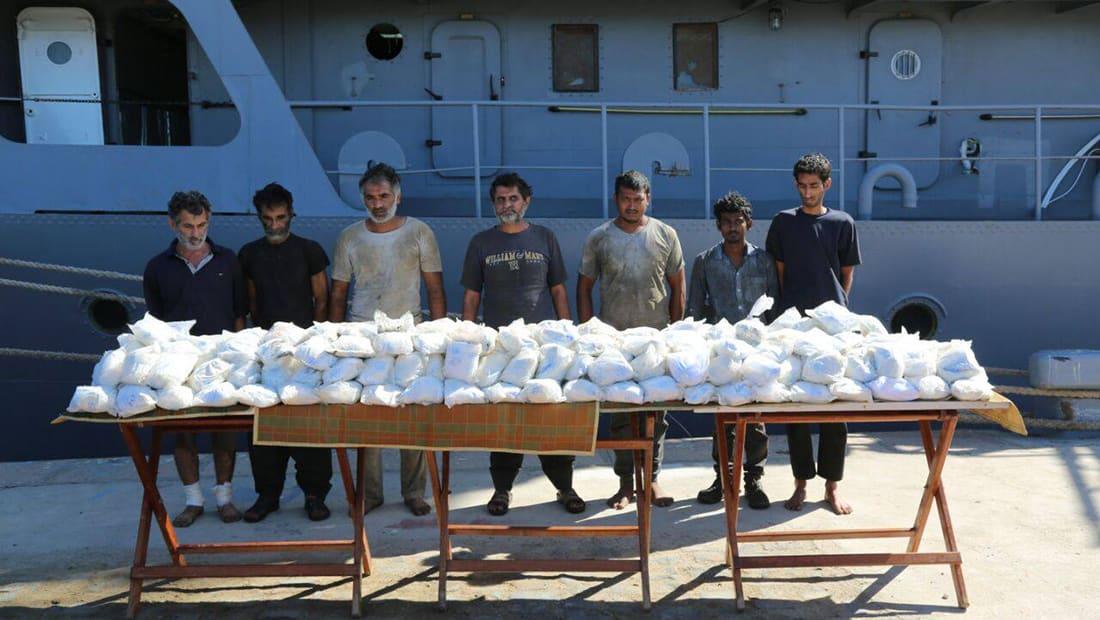 الجيش المصري يعلن عن ضبط مركب إيراني وإحباط محاولة تهريب مخدرات
