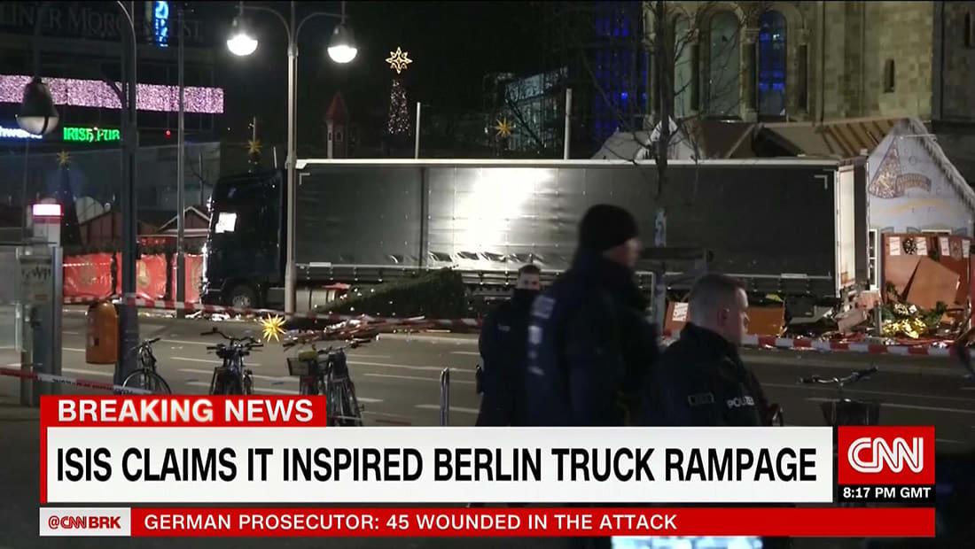 """داعش ببيان منسوب: منفذ هجوم برلين """"جندي للدولة الإسلامية"""""""
