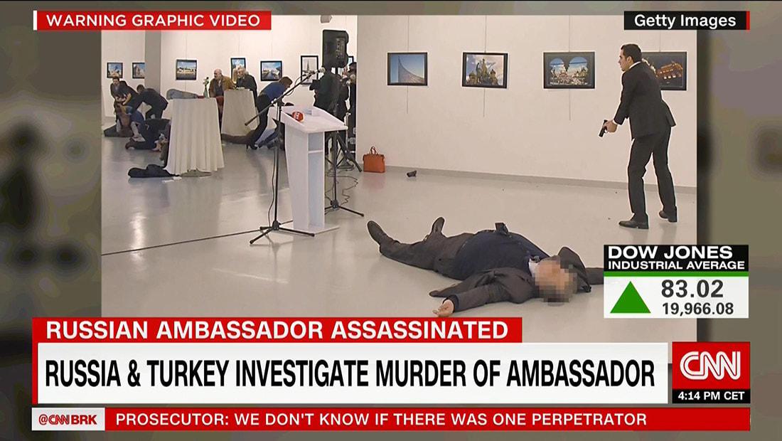 وزير خارجية تركيا: منظمة فتح الله غولن تقف وراء اغتيال السفير الروسي