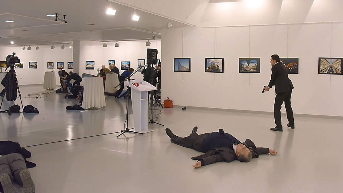 أردوغان: غولن مسؤول عن اغتيال كارلوف.. وروسيا: يجب عدم التسرع