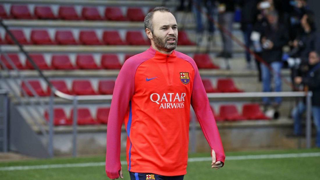 إنييستا: أسوأ يوم في حياتي كان يوم انضمامي لبرشلونة