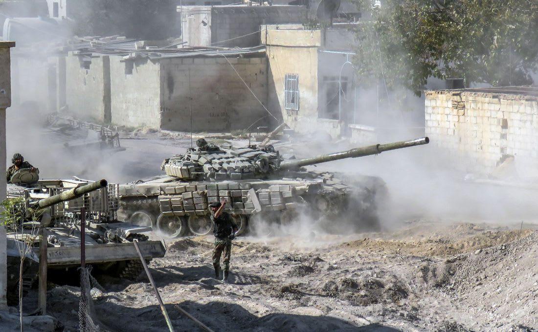 مسلحون يطلقون قذيفة هاون على مقرّ السفارة الروسية في دمشق