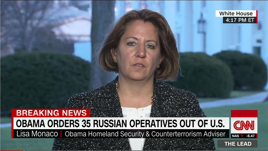 مستشارة الأمن القومي لـCNN: طرد الدبلوماسيين الروس لنشاطات استخباراتية
