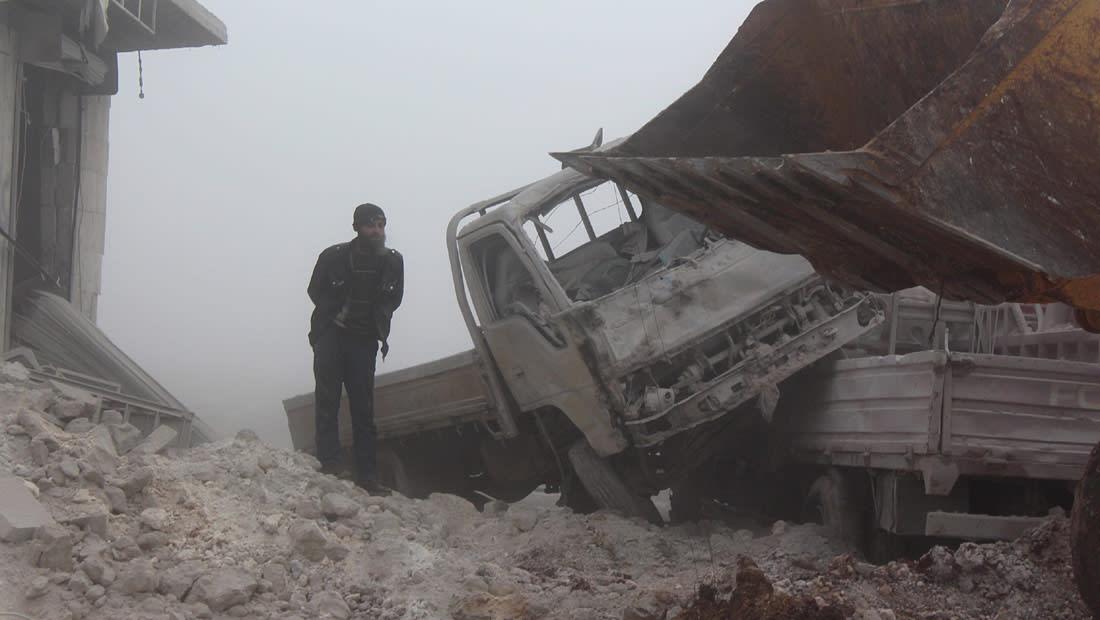 """سفر إعلامي مصري الى سوريا لنقل ما حلّ بـ """"حلب الحرة"""" يثير ضجة.. ونشطاء يعلقون"""