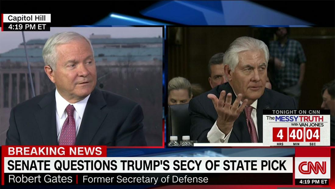 وزير دفاع أمريكا الأسبق يبين لـCNN سبب تجنب مرشح ترامب للخارجية إدانة السعودية